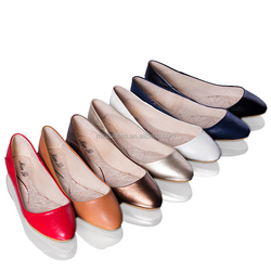 latest foldable pointed toe ladies fancy shoes women flat shoes
