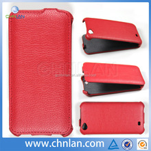 High quality and hot selling thermoforming flip pu leather cell phone case for FLY IQ 452