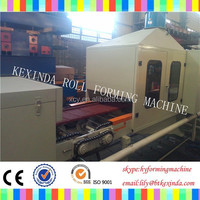 Color Stone sand blasting coated steel paving stone forming machine