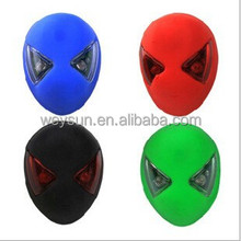 Bike Safety Warning Rear Light Bright Spiderman Shape USB Rechargeable Charging Cycling Red LED