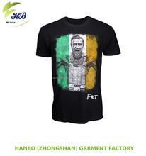 Fashion custom quick dry plain blank t shirt dry fit t-shirt 100% polyester/cotton dry fit sport t shirts 100 cotton tshirts