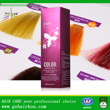 Organic Hair Coloring Temporary Hair Color with No ammonia No peroxide Formula