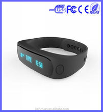 Bluetooth Smart Watch E02 Smart Bracelet Wearable Life Waterproof Pedometer SmartWatch For IOS Android Fitness Tracker