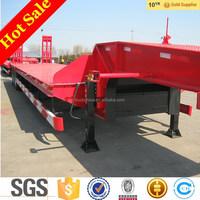 tri-axle low bed semi trailer dimensions price for sale