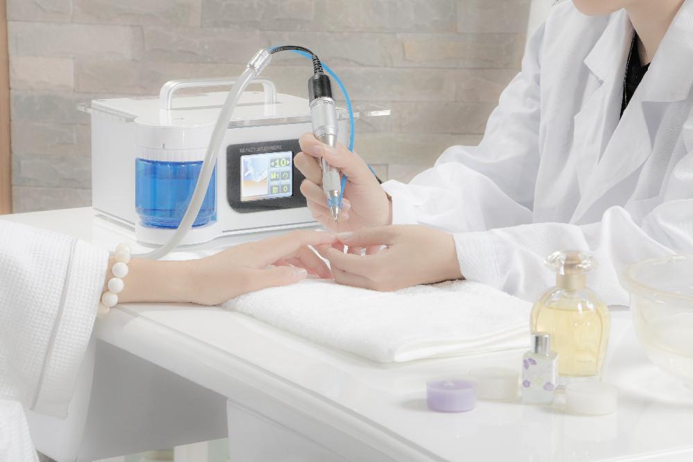 Atacado salão de beleza Profissional elétrica manicure máquina de 15 W unha polonês com tela sensível ao toque