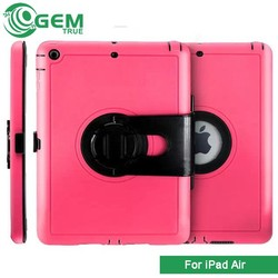 360 Rotating Smart Leather Case with Back holder for iPad Air
