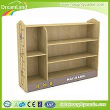 Hot-sale oak school bag shelf kids solid wood cabinet