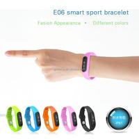 sport bracelet e06 smart bracelet health sleep monitoring