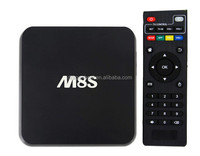 2015 Best Mini Pc Amlogic S812 Quad Core Android Smart 4K Tv Box M8S Better Than Mxq Tv Box