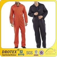 EN ISO11611 EN ISO11612 fire retardant fr Cotton boiler suit FR boiler suit