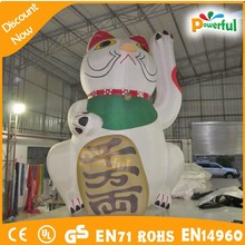 hot new design cute inflatable cartoon balloon,inflatable lucky cat for advertising