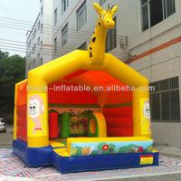 Giraffe inflatable bouncy castle combos