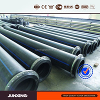 Flanged Joint PE Dredging Tube HDPE Dredge Pipe
