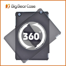 New design factory 360 rotate hand strap case for ipad mini 2