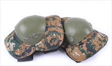 Camouflage military knee and elbow pads