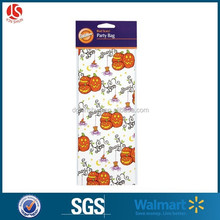 Halloween designs PP party treat bag sipdernan candy goodies bag