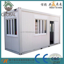 eps/rock wool/glass fibre sandwich panels container house