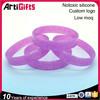Artigifts 2015 cheapest price and highest quality custom silicone bracelet wristband