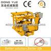 Cement hollow block machine QT40-3A mobile cheap machines to make money