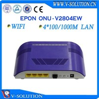 Epon 4GE onu wireless wifi network 3g modem wifi router