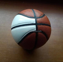 Professional mini PU leather basketball