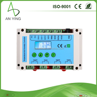 Functional 4 Relays outputs and remote control temperature and humidity controller, digital temperature controller