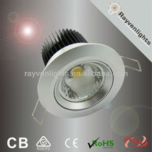 SAA/CE Beam Angle 30/60 Degree COB 10W Dimmable LED Downlight
