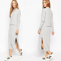 Juhai 3477 long sleeve tb girls cotton dress materials