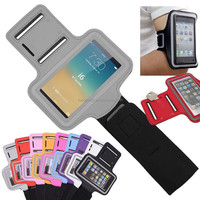 2015 New Style Soft Belt running armband sport case for iphone 5 5s , Phone Bags & Cases waterproof Pouch Holder armband