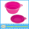 Hotsell personalized silicone dog travel bowl