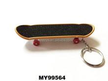 Premium gift finger Skate Board Toy key chain skate board cartoon key chain
