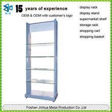 New customized metal glass kitchen utensil rack prices/coffee capsule stand/coffee cup racking display shelving