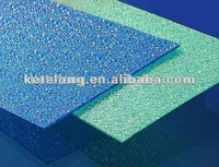 polycarbonate embossed sheet for bathroom