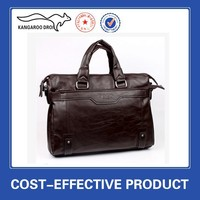 hot sale PU leather shoulder conference bags