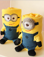 TF-W03150803059 2015 cute minion despicable me air conditioning blanket