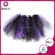 Kids hot sale wholesale children mini tutu skirt halloween costume pettiskirt
