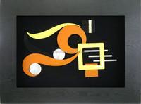 Modern metall wall art , 3d shadow box wall mural for home decoration