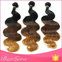 colored two tone ombre hair weave bundles, wholesale hair weave distributors, wholesale cheap 100 human hair