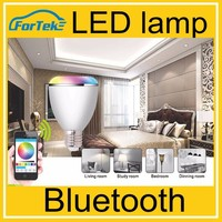 LED Bluetooth Speaker + LED Lamp With New App E27 B22