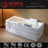 hot selling new acrylic and lower walk in bathtub with adjustable lift seat for handicapped people Q375L