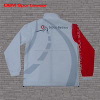 Wholesale bulk sublimation jacket,sport warm-up tracksuit