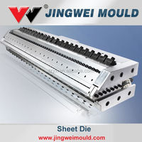 hot sale polypropylene plastic core flute sheet/ board extrusion mould