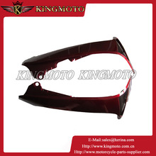 """Universal Motorcycle Plastic Parts Wind Protector Red Handguards For Dirt Pit ATV Quad Bike 22mm 7/8"""" Bar"""