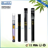Fillable cbd atomizer cartridge disposable e-cigarette portable dry herb vaporizer