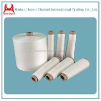 100% Spun Polyester Semi Dull/Natural White/Optical white Yarn High Tenacity Polyester Filament Yarn for Sewing
