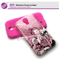 Cell phone 2 in1 Protector cover case for Samsung Galaxy S4 I9500 PC+Silicon case