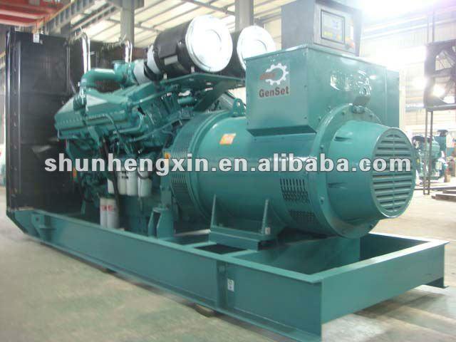 1000kva Diesel conjunto gerador de energia por Cummins Engine