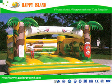 Top 3 OEM inflatable manufacturer in China Inflatable Coconut Tree Bouncy Castle Series
