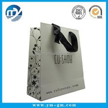 Printed paper bag, Paper shopping bag,with Hong Kong
