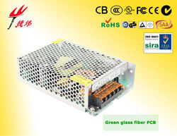Shenzhen 120W 24V 12V switching power supply led manufacturer with EMC,LVD,RoHS Certification